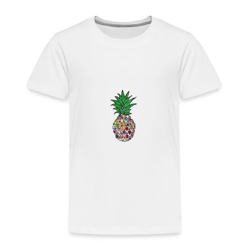 Moderne Ananas - Kinder Premium T-Shirt