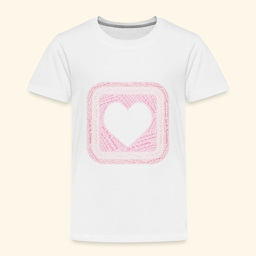 You are my everything with love - Kids' Premium T-Shirt