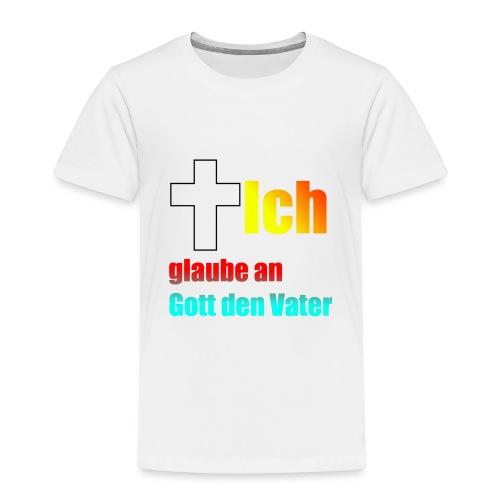 Das glaube Ich Design - Kinder Premium T-Shirt