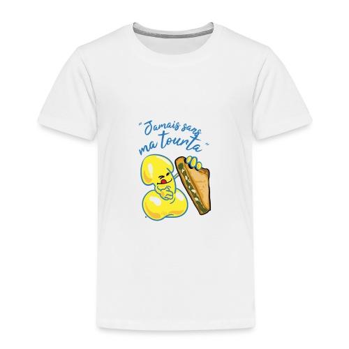 collection jamais sans ma tourta - T-shirt Premium Enfant