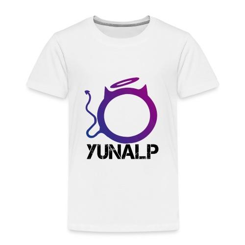 Logo mit Namen - Kinder Premium T-Shirt