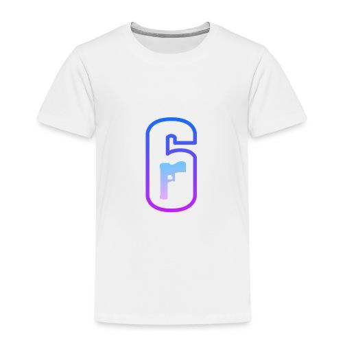 LOGO RAINBOW SIX SIEGE COULEUR FLASHY - T-shirt Premium Enfant