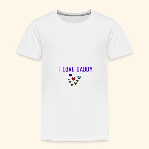 I love Daddy - funny Design - Kinder Premium T-Shirt