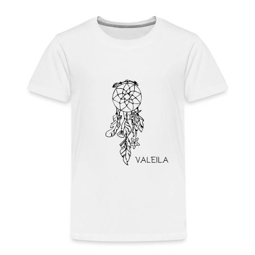 Valeila Logo Nero - Maglietta Premium per bambini
