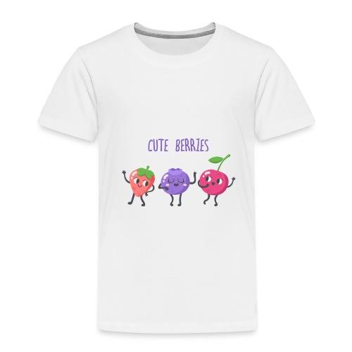 Cute Berries - Kinder Premium T-Shirt