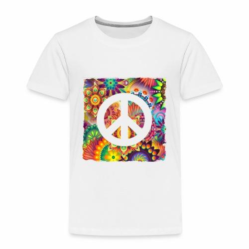 Psychadelic Peace - Kinder Premium T-Shirt