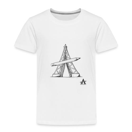 Tour Eiffel Crayon - T-shirt Premium Enfant