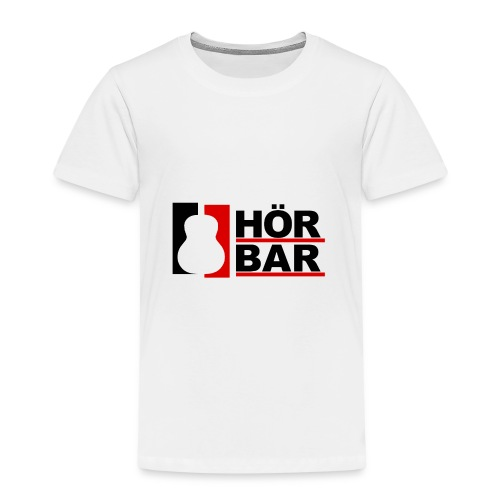 Hörbar Logo - Kinder Premium T-Shirt