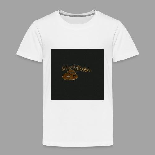 Günni Günter Design Black Background- - Kinder Premium T-Shirt