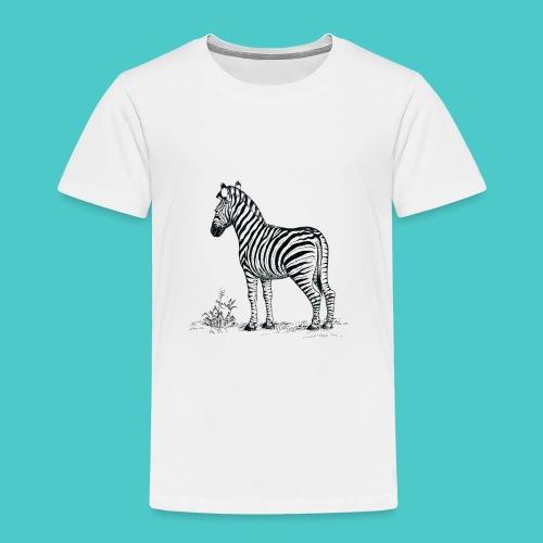 Cebra - Camiseta premium niño