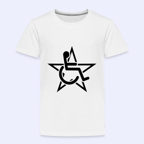Wheelchairstar2 - Kinderen Premium T-shirt