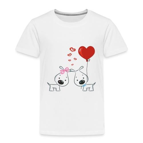 Hunde_Liebe - Kinder Premium T-Shirt