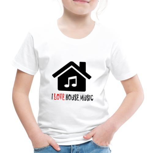 House Music Haus Party Shirt - Kinder Premium T-Shirt