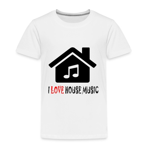 House Music Haus Party Shirt - Kinder Premium T-Shirt