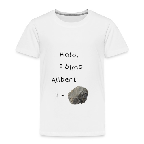 Albert Einstein - Kinder Premium T-Shirt