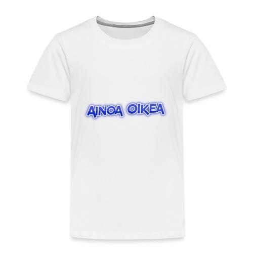 Ainoa oikea - Lasten premium t-paita