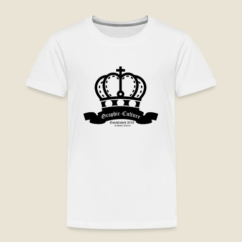 Graphic-Culture Krone - Kinder Premium T-Shirt