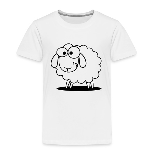 Hausschaf - Design - Kinder Premium T-Shirt