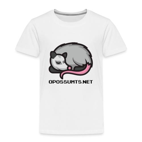OpossumTS-Logo mit Schrift - Kinder Premium T-Shirt