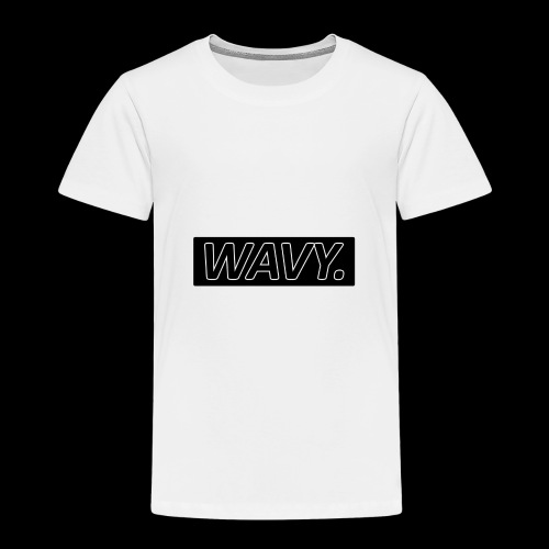 BLACK WAVY. RECTANGLE - T-shirt Premium Enfant