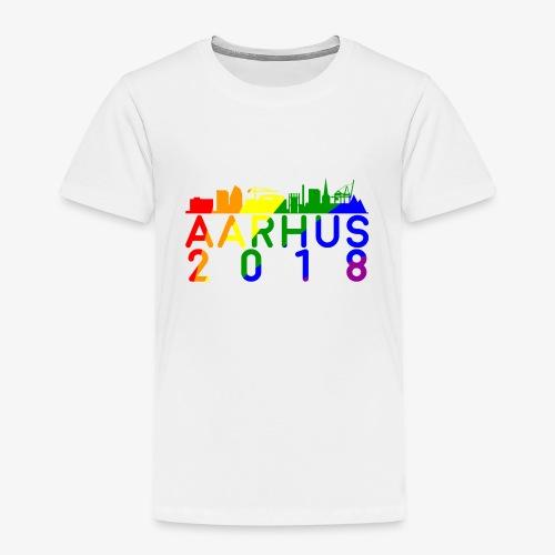 Aarhus Pride 2018 - Børne premium T-shirt