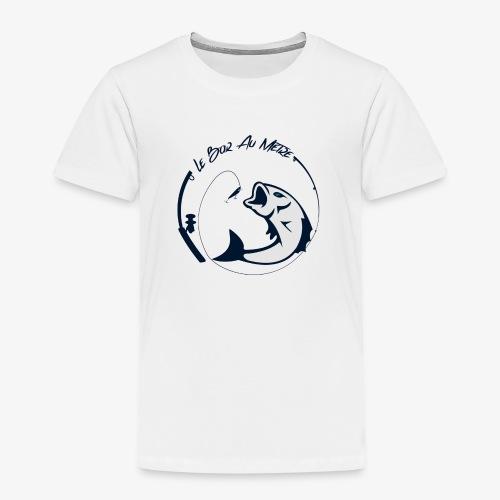 logo le bar au metre fond transparent - T-shirt Premium Enfant