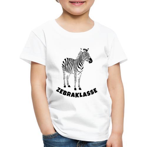 Zebraklasse Zebra Klasse - Kinder Premium T-Shirt