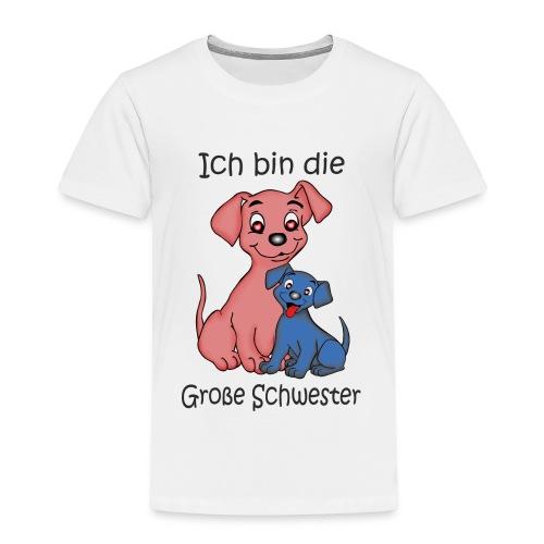 Ich Bin Die Grosse Schwester Puppy B - Kids' Premium T-Shirt