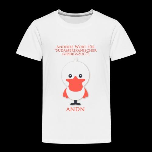 ANDN - Funshirt - Kinder Premium T-Shirt