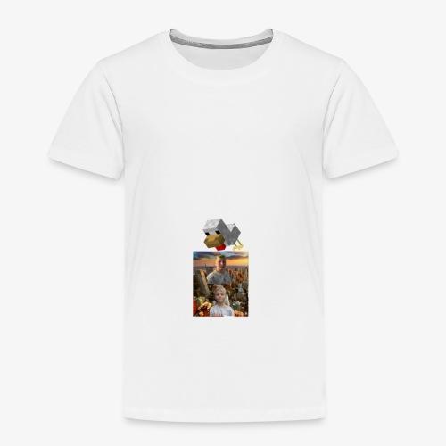 Minecraft høna - Premium T-skjorte for barn