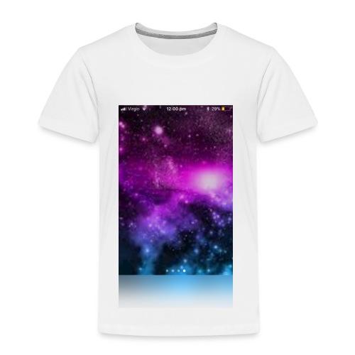 Galaxy long sleeved t-shirt kids - Kids' Premium T-Shirt
