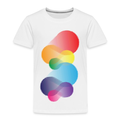 Colourful Abstraction - Kids' Premium T-Shirt