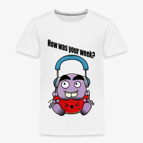Melon Doodle - Kids' Premium T-Shirt