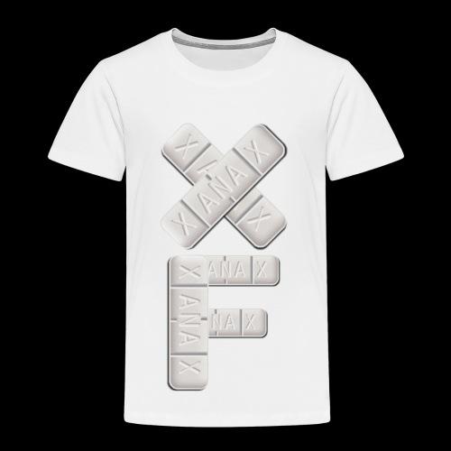 XF Xanax Logo - Kinder Premium T-Shirt