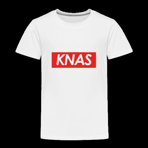 knas - Premium-T-shirt barn