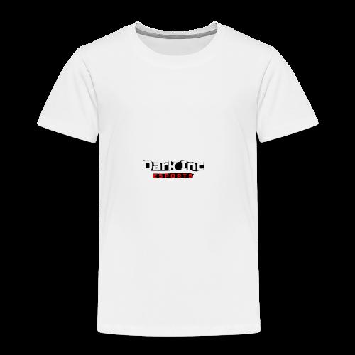 Dark Inc Text - Børne premium T-shirt