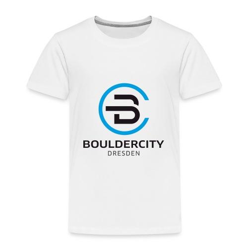 Bouldercity Dresden Blau Schwarz - Kinder Premium T-Shirt