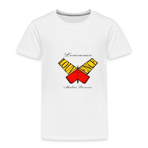 Papillon Louvence - T-shirt Premium Enfant