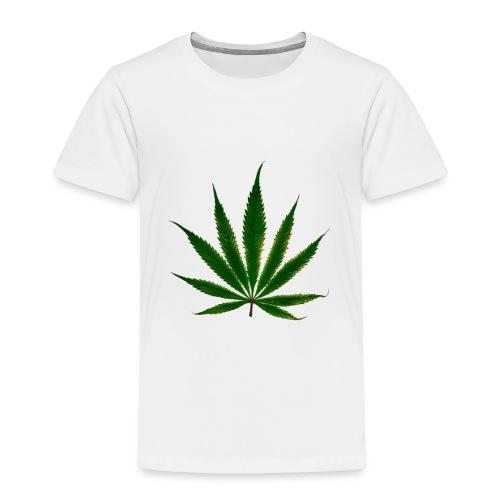 cannabis leaf - T-shirt Premium Enfant