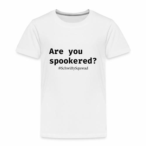 SchwiftySquwad Spookered - Kids' Premium T-Shirt