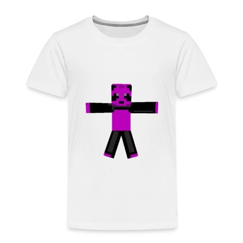 EpicEvander Team-Panda skin xD - Premium T-skjorte for barn