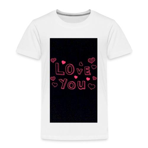Love❤️Everybody - Premium-T-shirt barn