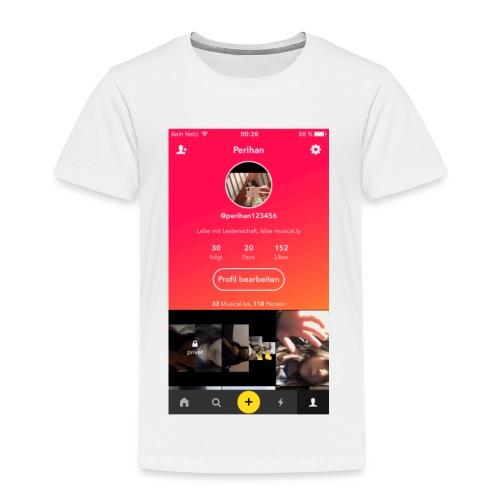 Flasch mit Bild 🌸 - Kinder Premium T-Shirt