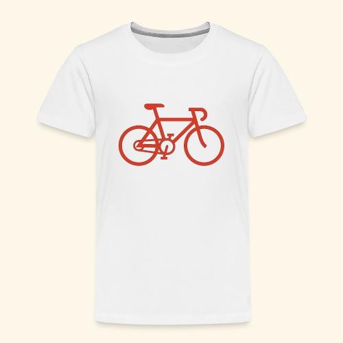 BIG bike red 001 - Kinder Premium T-Shirt