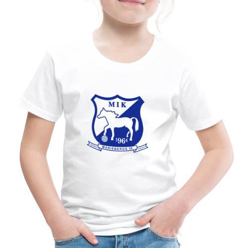 MIK - stor logo - Premium-T-shirt barn