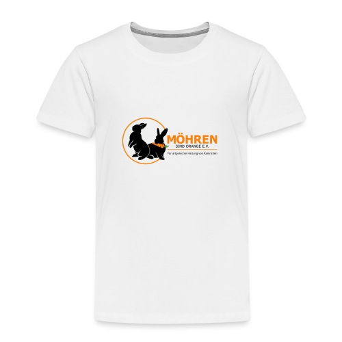 Möhren sind orange e.V. - Kinder Premium T-Shirt