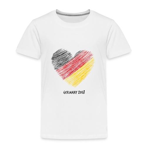 Fußball WM – Deutschland-Shirt - Kinder Premium T-Shirt