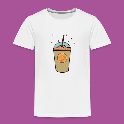 Oranger_Becher - Kinder Premium T-Shirt