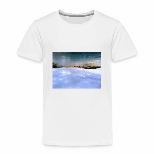 over the sea - Kinder Premium T-Shirt