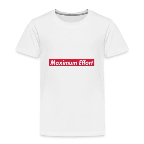 Maximum Effort - Kinderen Premium T-shirt